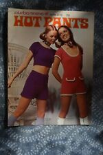 Vintage Columbia Minerva College HOT PANTS pattern leaflet 2532