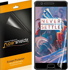 2X Supershieldz HD Clear Screen Protector Saver Cover For OnePlus 3 (Full Cover)