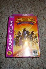 Shining Force: Sword of Hayja (Sega Game Gear, 1994) NEW Factory Sealed