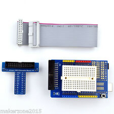 New Arduino Prototyping Prototype Shield With Mini Breadboard + Extension Board