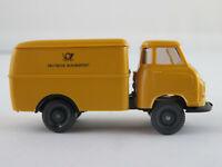 """Wiking 344 Hanomag Kurier I Kofferwagen (1959-1967) """"DBP"""" 1:87/H0 NEU/unbesp."""