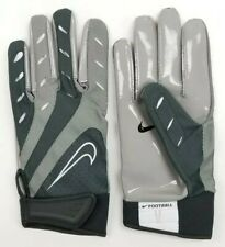 078057059 Nike College Elite Remix Football Gloves Sz XL Extra Large PGF131 Gray