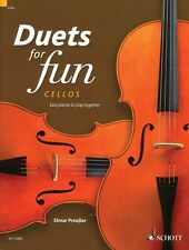 Duets for Fun: Cellos Easy Pieces to Play Together - Performance Score 049045153