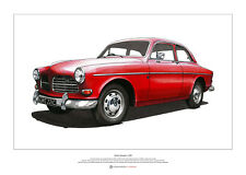 Volvo Amazon 122S - ART POSTER A2 size