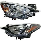 Headlight For 2017-2018 Toyota Yaris iA Pair Driver and Passenger Side