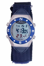 Chronotech Men's CT.8070M/02 Digital Day Date And Month Display Canvas Watch