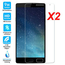 2x 9H Premium Thin Tempered Glass Screen Protector Film Fr Oneplus 1 2 3 3T 5/5T