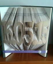 New handmade folded book art ornament with Any date in Harry Potter book