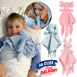 Newborn Babies Cuddly Elephant Shower baby comforter blanket Soft 3D Novelty