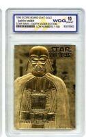 "STAR WARS ""LIMITED EDITION DARTH VADER"" GEM-MT 10 ""23 KT GOLD CARD! 1/10,000!"