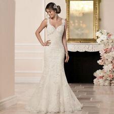 Spitze Mermaid Brautkleid Hochzeitskleid Kleid Braut Babycat collection BC720