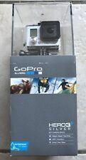 GoPro Camera HERO3+ Silver Bundle HD WiFi Remote Lowepro Incase Dual Battery NEW