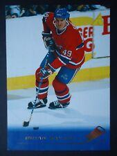 NHL 94 Brian Savage Montreal Canadiens Pinnacle 1995/96 (6,4 x 8,9)