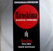 "7"" 1990 MIX WISHFUL THINKING ! DAVE MORGAN : Hiroshima"