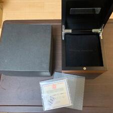 Officine Panerai Watch Gift Box Case Wood Wooden Empty Genuine [H]