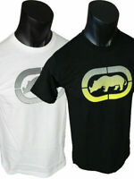 Mens ECKO UNLTD Brand T-Shirt MULTI WAVES with Raised Print in Black or White