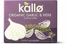 Kallo Organic BIO Ail & Fines Herbes 6 Stock Cubes - 66 g