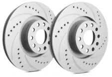 SP Front Rotors for 2005 COBALT w/ 5 Lugs Wheels | Drilled Slotted F55-093