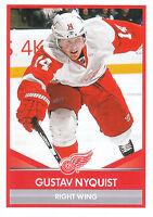 16/17 PANINI NHL STICKER #78 GUSTAV NYQUIST RED WINGS *24751
