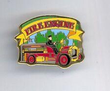 2001 Disney Tokyo Disneyland Fireman Fire Engine Transportation Attraction Pin