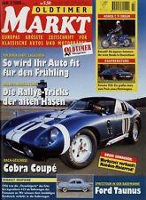 Markt 3/00 2000 Renault Dauphine BSA Y13 Honda Dream C 71 Porsche 928 Ford 17 M