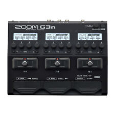 Zoom G3N Guitar Multi-Effects Processor Pedal Footswitch w/ Amp Cab DSP Models