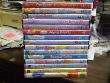 (15) Care Bears Children's DVD Lot: Christmas  Helping Hearts  Season of Caring