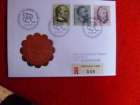 1975 SWITZERLAND UPU  CYCLING  REGISTERED COVER LAUSANNE