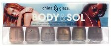 China Glaze Nail Lacquer Mini - Corpo & Sol - 6 Colori x 3.7ml