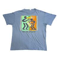 New Orleans We Be Jazzin Tshirt | Vintage 90s US City Jazz Music Souvenir VTG