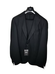 Hugo Boss Tailored Anzug • UVP: 995,-€• 56 • Schwarz• Neuwertig