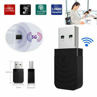 USB WiFi Wireless AC1200 Mbps Adapter Dongle USB 3.0 Network Card for PC Laptop