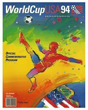 1994 World Cup (USA) Poster from Tournament Program - 8x10 Color Photo