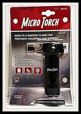 Butane Micro Torch-Upright-Push button igniter-Ceramic tip 2000F Cooking Solder