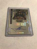 2014 PANINI CONTENDERS PLAYOFF TICKET AUTOGRAPH ROOKIE TRE MASON AUTO RC /99