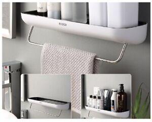 Bathroom Shelf Organizer Adhesive Wall Mounted Shower Storage Rack Holder Caddy