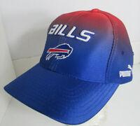 Bills Buffalo Hat Puma Pro Line ATA NFL Dead Stock 1990's Poly Shine Cap