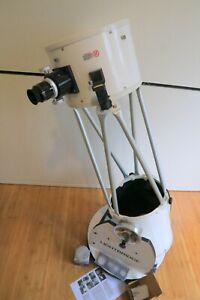 Meade 10″ LightBridge Truss-Tube Dobsonian Telescope