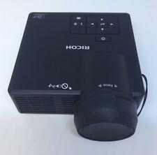Ricoh PJ WXC1110 DLP Projector  600Lm LED WXGA Free Uk Postage