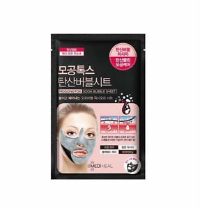 Mediheal Mogongtox Soda Bubble Sheet Mask for Pore Care and Brightening 18ml