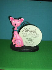 Cool Cat Picture Frame Stand by Katherines Collection Retired Line