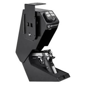 Barska quick Access Handgun Pistol Box Desk Drawer Biometric Safe AX13092