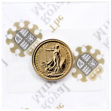2019 Great Britain 1/10 oz. Gold Britannia £10 Coin GEM BU PRESALE SKU55874