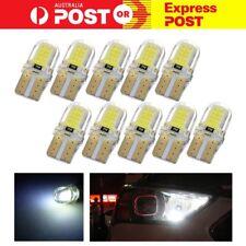10pc Super White T10 194 168 W5W COB 8 SMD SILICA Bright LED light Bulb 6000K AU