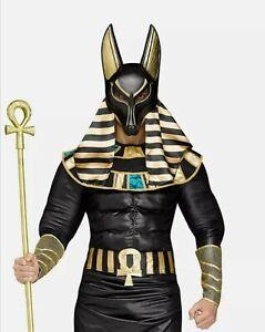 Ägyptischer Gott Anubis Kostüm Ägypter Halloween Totengott Gr.: XL/XXL