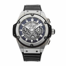 Hublot King Power UNICO Chronograph Titanium Watch Skeleton Dial 701.NX.0170.RX