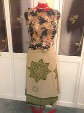 """""""Krishma3"""" Indian """"100 Ways To Wear"""" Flowy Multiple Tie Dress/Skirt/Top One Size"""
