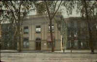 Ansonia CT Osmon & Cheeseman Factory c1910 Postcard