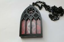 Curiology Gothic window pendant