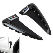 For BMW X5 F15 2014 2015 Side Wing Air Flow Fender Grill Intake Vent Trim 2pcs